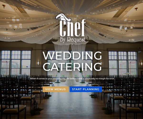 Chef by Request Website Design