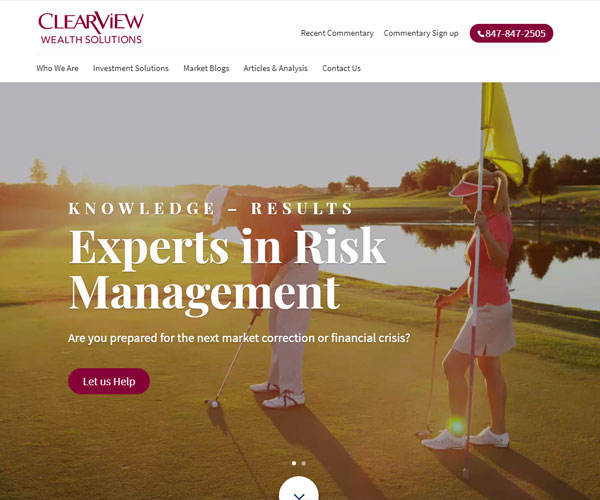 Clearview Wealth Solutions Website Design