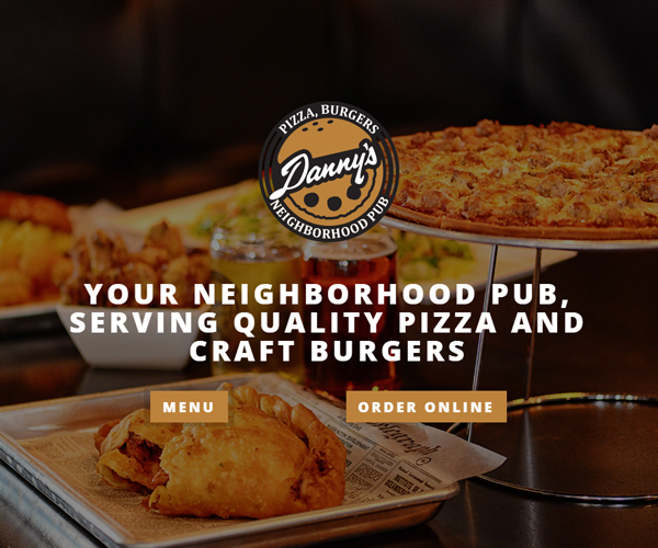 Danny's Neighborhood Pub Website Design