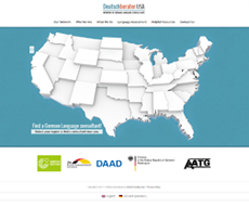 Deutschberater USA Website Design