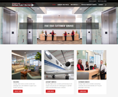 DuPage Flight Center Website Design