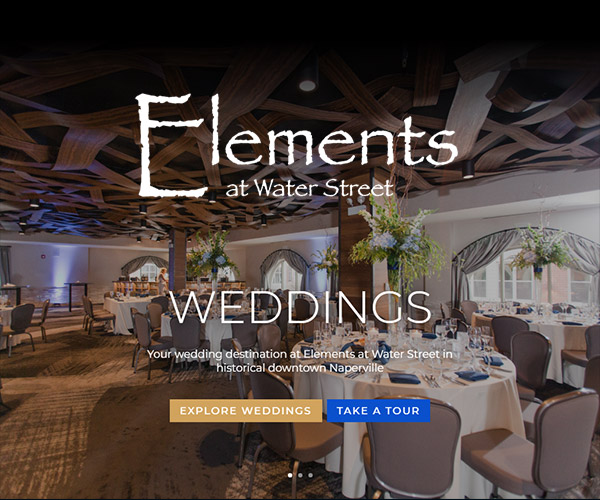 Elements at Water Street Website Design
