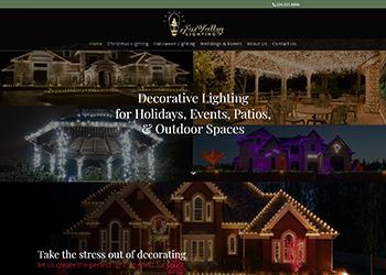 Fox Valley Lighting Website Design