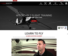 Illinois Aviation Website Design