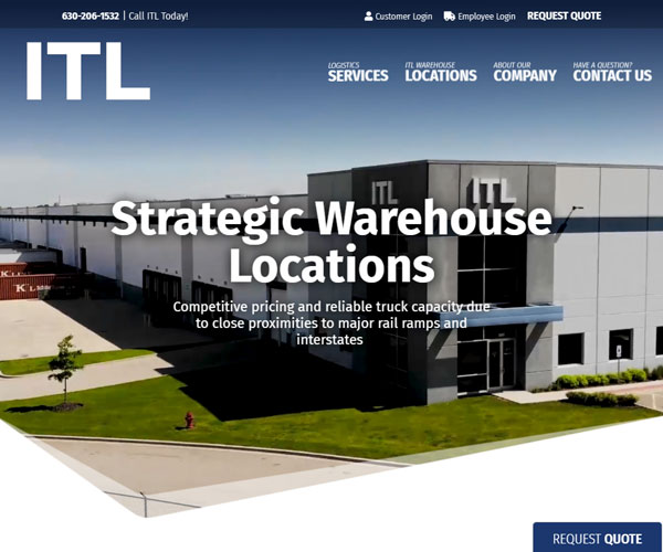 ITL Chicago Website Design