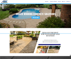 K-M Concrete Website Design