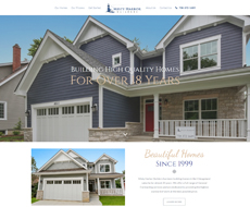 Misty Harbor Builders Website Design