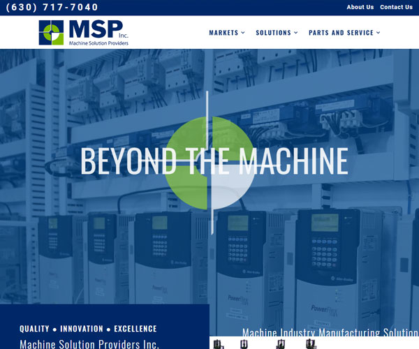 MSP Inc. Website Design