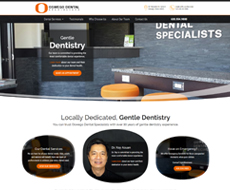 Oswego Dental Website Design