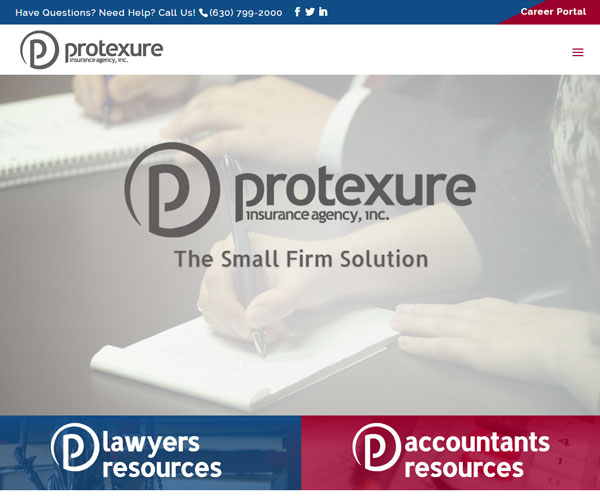 Protexture Website Design
