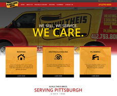 Schultheis Bros. Website Design