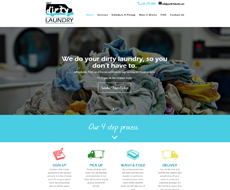 Your Dirty Laundry Website Design
