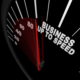 Bring your business up to speed