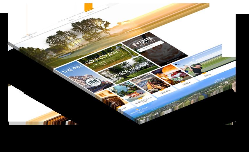 Harbor shores stacked website