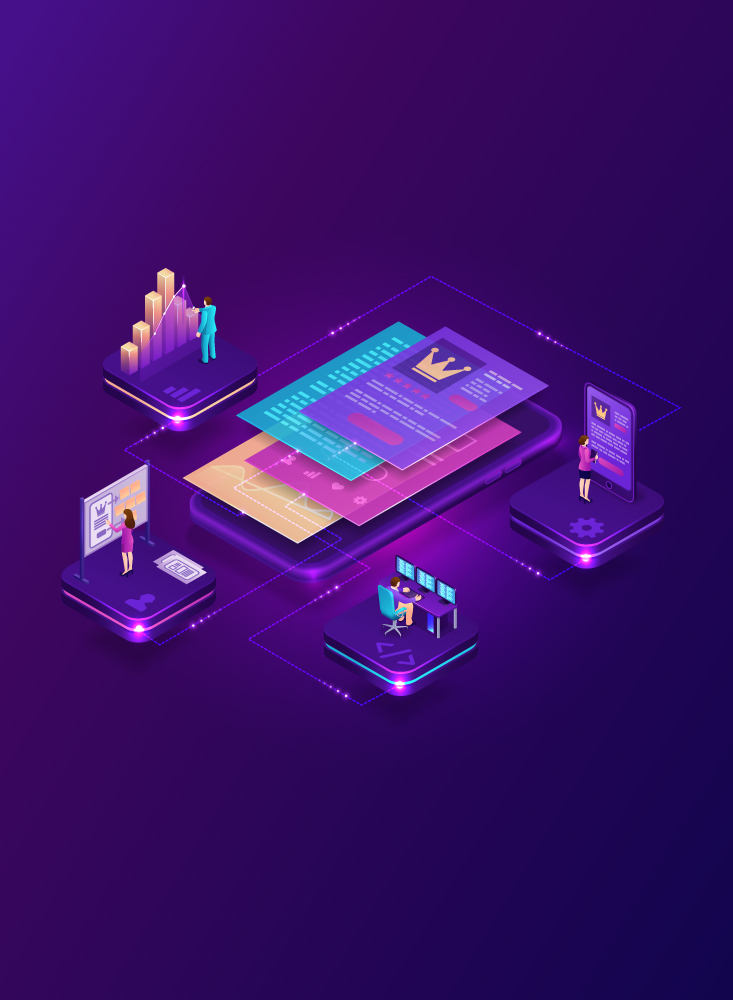 App Development graphic icons
