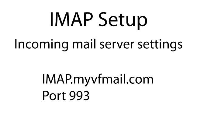 Iphone Setup IMAP