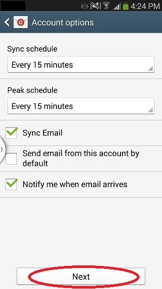 Android Setup Step 10