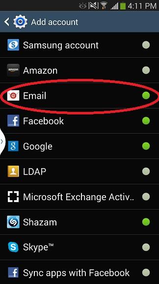 Android Setup Step 3