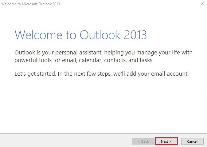 Outlook Step1