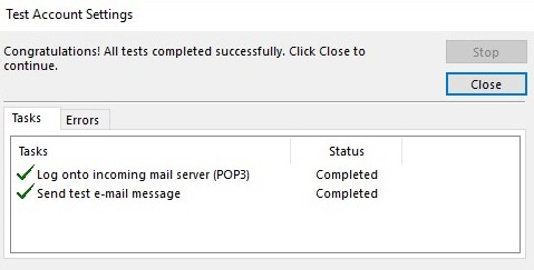 Outlook Step 11