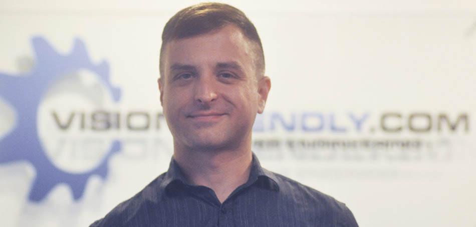 Photo of Visionfriendly.com Web Designer Jonathan Zmek