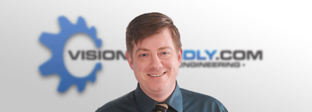 Photo of Visionfriendly.com President Eric Kinsey