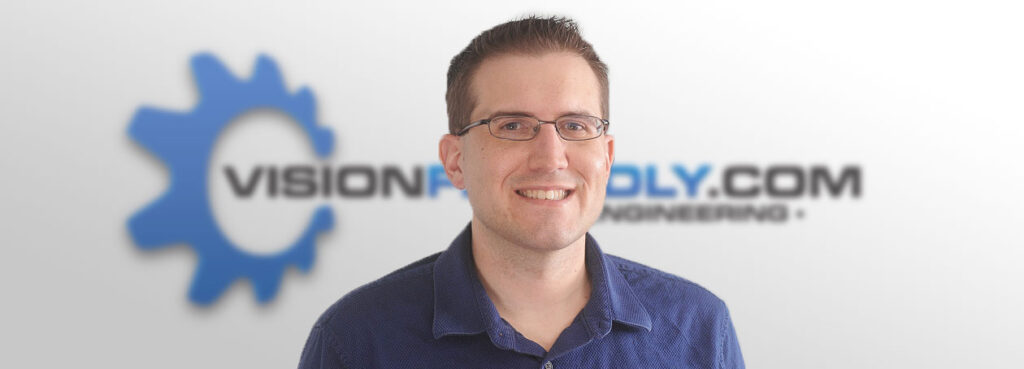 Photo of Visionfriendly.com Project Manager Jason Twite