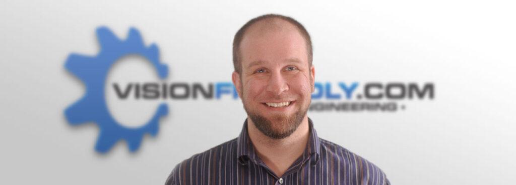 Photo of Visionfriendly.com Lead Designer Kyle Lisson
