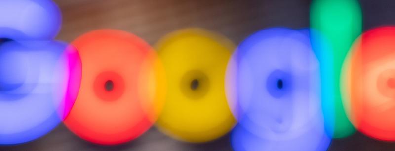 Google Logo blurred