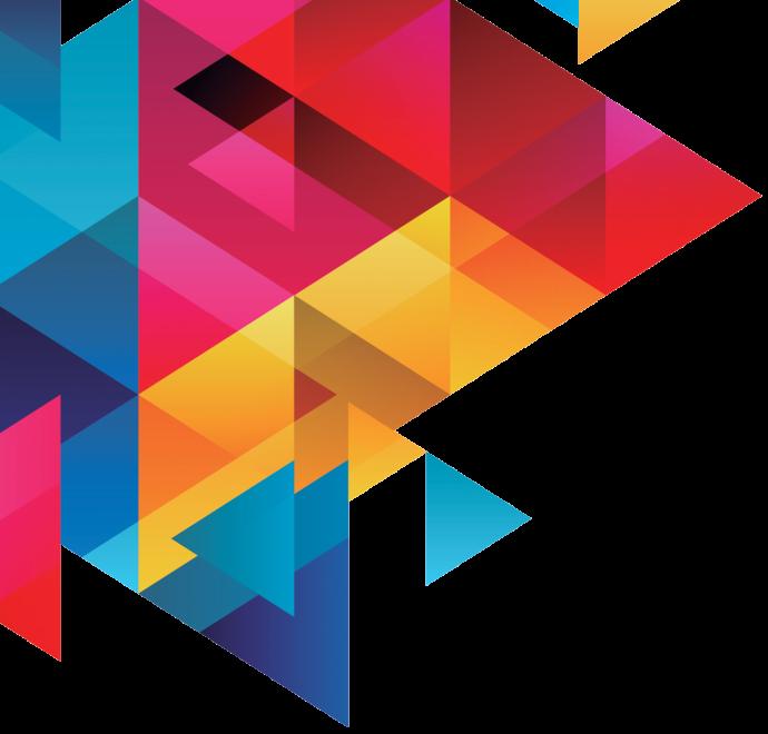 tri color graphic